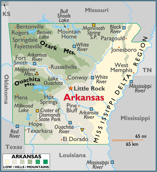 ARKANSAS | PLACES AND THINGS