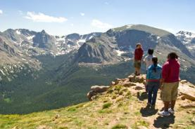 Trail Ridge on Mountain Scenic