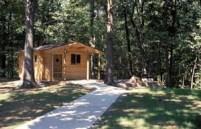 campground cabin IL