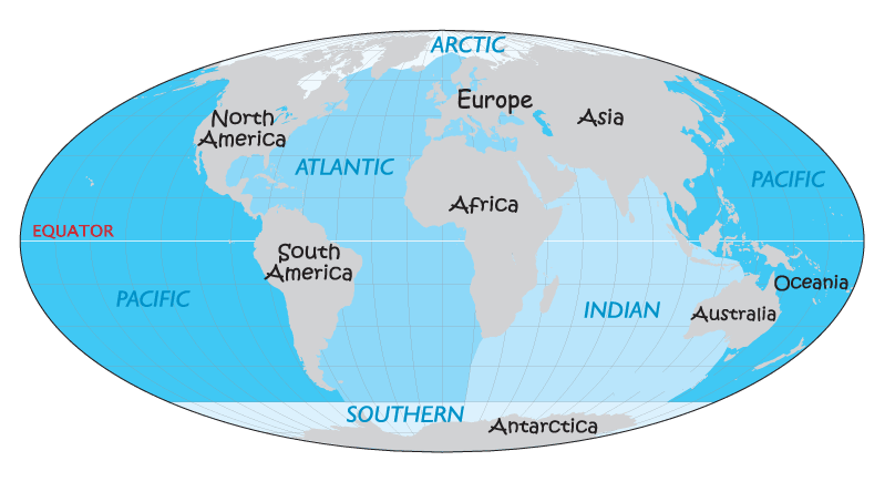 the indi an ocean is the 3rd largest ocean in the world the surface of    What Are The 5 Oceans