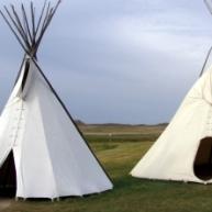 Teepee - A Native American Indian tribal house