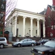 NJ Barrow Mansion ionic house