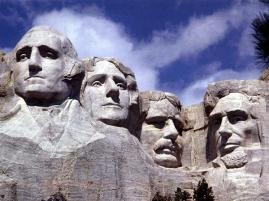 Mount Rushmore in Blackhills, SD