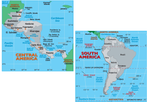 South America and Countries