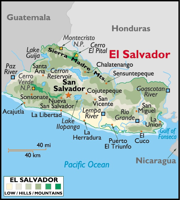 EL SALVADOR | PLACES AND THINGS on