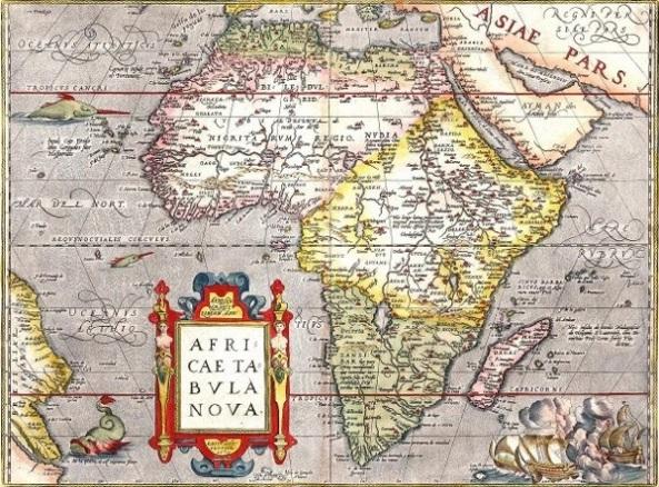 Africa Tabula Nova Map
