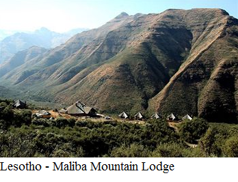 Lesotho - Maliba mountain lodge