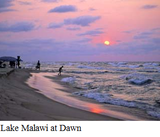 Malawi - lake at dawn
