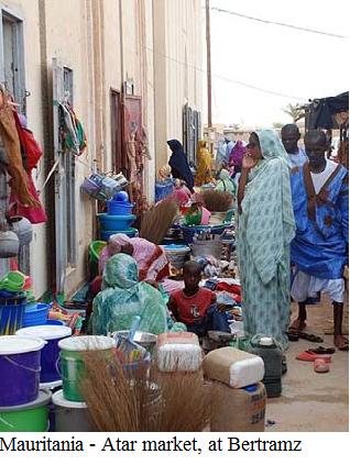 Mauritania - Bertranz, Atar market