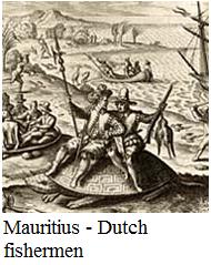 Mauritius - Dutch fishermen