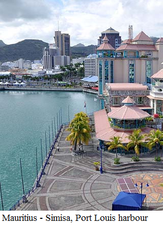 Mauritius-Simisa, Port Louis harbour