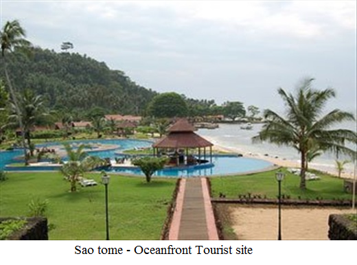 Sao Tome - Oceanfront