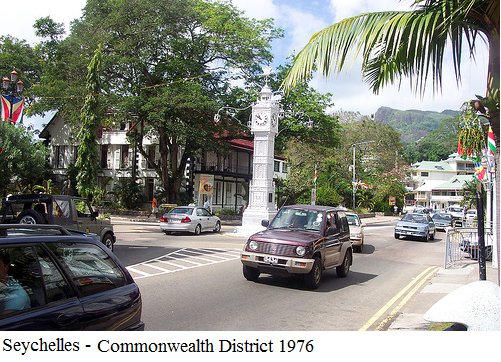 Seychelles - commonwealth district