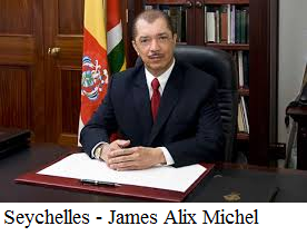 Seychelles - James Alix Michel