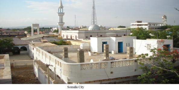 Somalia city