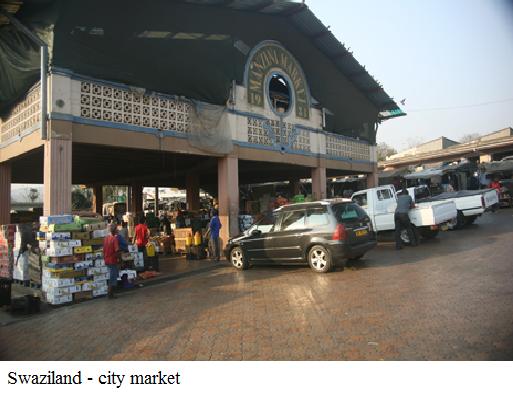 Swaziland - city market