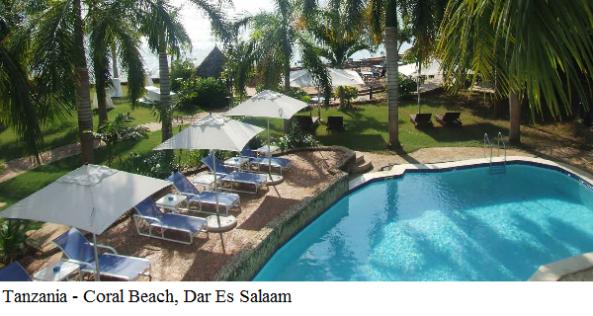 Tanzania - Coral Beach