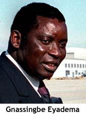 Togo - Gnassingbe Eyadema