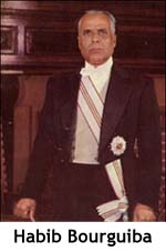 Tunisia - Habib Bourguiba