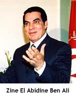 Tunisia - Zine El Abidine Ben Ali