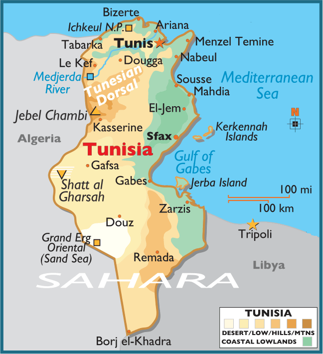 Tunisia PLACES AND THINGS