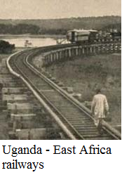 Uganda - East Africa railways