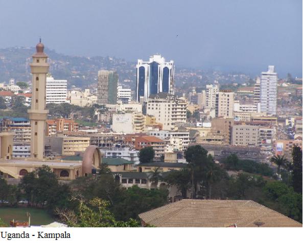 Uganda - Kampala city